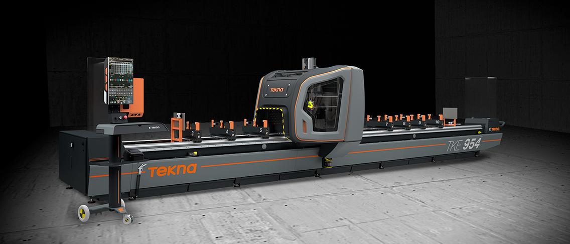 TEKNA TKE 954 CNC-työstökeskus alumiinintyöstöön